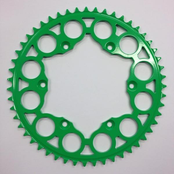 zelená ocelová rozeta kawasaki