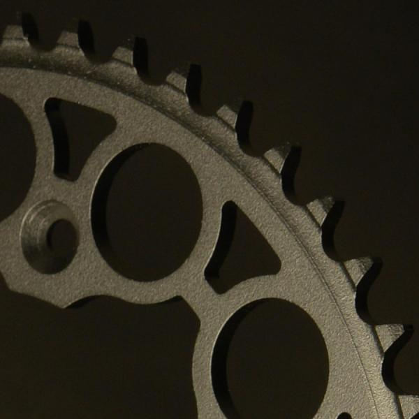 Rear sprocket Grosskopf steel detail