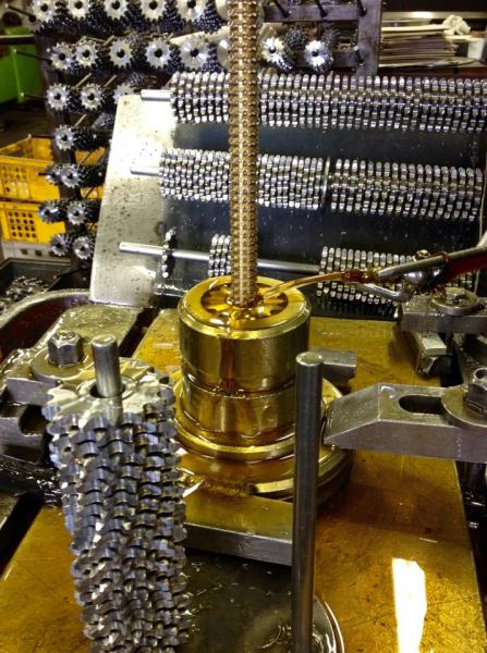 výroba řetězových koleček